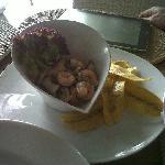 Me encantó la comida del hotel