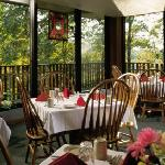 Dining at Burr Oak Lodge