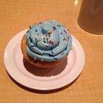 Cake Batter cupcake
