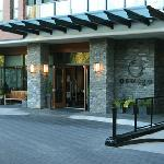 Front of the hotel.