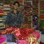 Choosing my material for my punjab outfits with Ali