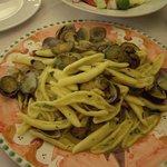 Zucchini and Clam pasta