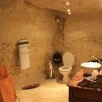salle de bain troglodyte