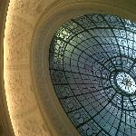The stunning roof of the entrance hall/stairs