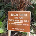 Bulow Plantation State Historic Site