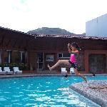 Hotel Sangay pool