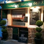 outside doona's of moraira