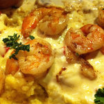 Shrimp & grits.... sooooo good.