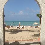 Doorway to the beach