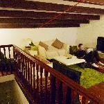 Common area at the attic