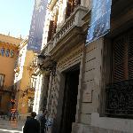 Il palazzo dove ha sede L'Iber
