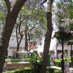 Small Plaza in Marbella Old Town