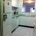 The little kitchenette