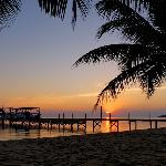 Hamanasi Belize Resort Beach at Sunrise
