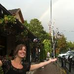 Rainbow at the Pub.