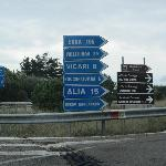 Sign to Roccapalumba