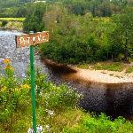 Point de vue sur la rivière du Gouffre