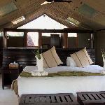 Gunn Camp - tenda interno