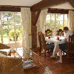 The dining room at Kikuyu Lodge