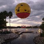 La mongolfière Disney