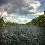 North end of Burntside Lake.