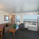 Standard Queen suite living room