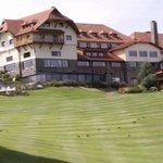 vista externa del hotel