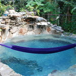 Hammock over pool, suite #4
