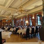 Dining room at the hotel