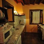 Hall, kitchen