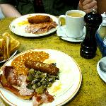 Full English at Diana's - yum!