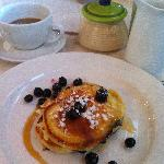 Philly's Divine Blueberry Pancakes