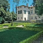 villa's facade
