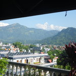 From rooftop at Hotel View Point, Pokhara