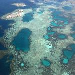 Abrolhos from the sky