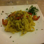 Hand made pasta with mixed sea food: wow!