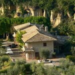 Villa Principale vista elicottero