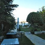 View onto rear garden