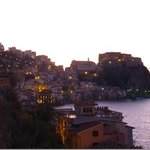 entering Scilla in the evening