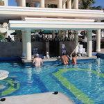 Pool bar in morning time. Fun! Fun!