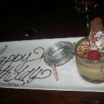 """Tiramisu and the """"birthday plate"""""""