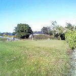 Golf field near the pension