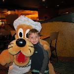 Pluto was his favorite!