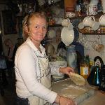MaryAnn making Homemade Scones