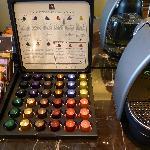Complimentary Nespresso Coffee & Gryphon Tea Bags