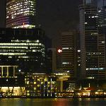 Night Shot of Hotel