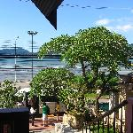 Patong beach & sea as seen from reception