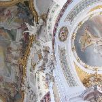 detail frescoes