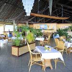 The Ari'i restaurant at the Te Tiare Beach Resort, Huahine