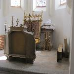 few furniture is left in its interior